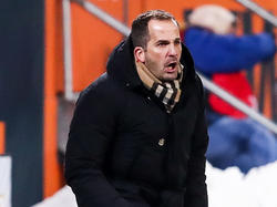 Manuel Baum ärgerte sich über fehlende zwei Punkte gegen Hertha