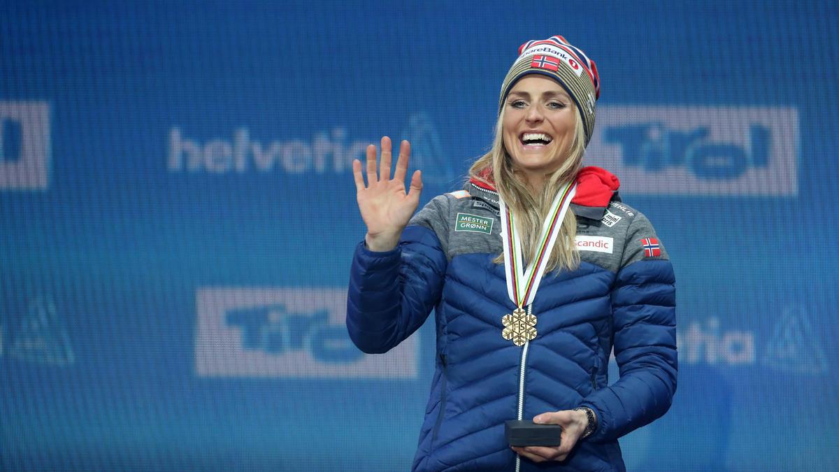 Therese Johaug überzeugt auch in der Leichtathletik