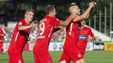 Heidenheim zieht nach dem Sieg beim SSV Ulm in die zweite Runde ein