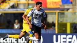 Amiri war im Juni mit der U21-Nationalmannschaft bei der EM am Ball