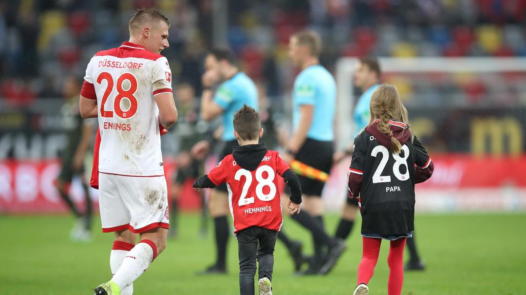 Fortuna Düsseldorf verlängert mit Rouwen Hennings
