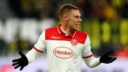 Steht im Auswärtsspiel beim FC Augsburg vor einer Rückkehr: Rouwen Hennings