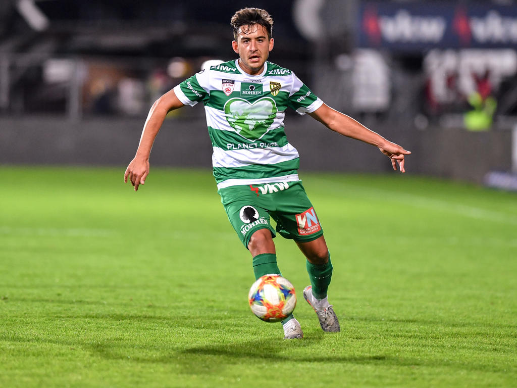 Marco Krainz kickt ab sofort in Wien-Floridsdorf