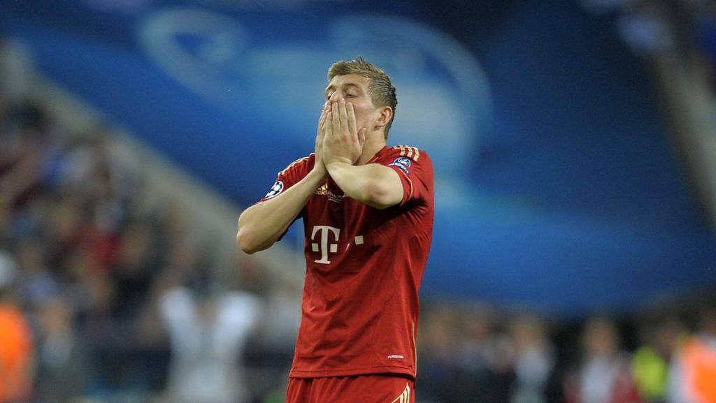 Toni Kroos verlor mit dem FC Bayern das