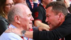 Lothar Matthäus (r.) stimmt der Kritik von Uli Honeß am BVB zu