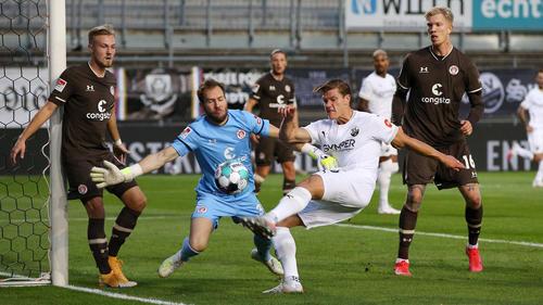 Der SV Sandhausen setzte sich gegen St. Pauli durch