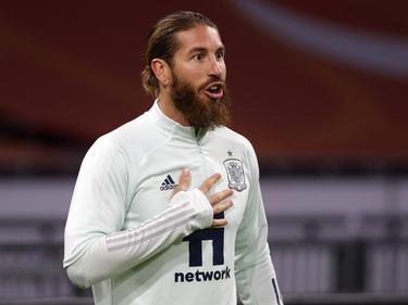 Sergio Ramos es el capitán de España.