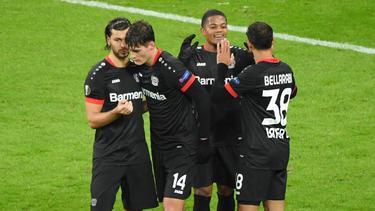 Bayer Leverkusen setzte sich gegen Slavia Prag durch