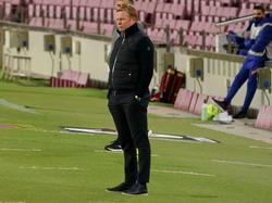Triste Miene beim aktuellen Barcelona-Trainer