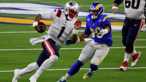 Die New England Patriots um Cam Newton drohen die Playoffs zu verpassen