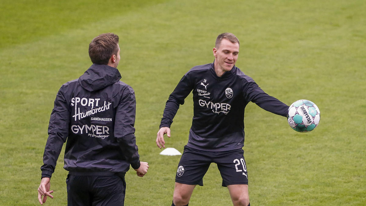 Die Spieler des SV Sandhausen dürfen wieder trainieren