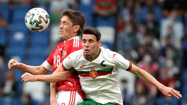 Russland gewinnt gegen Bulgarien