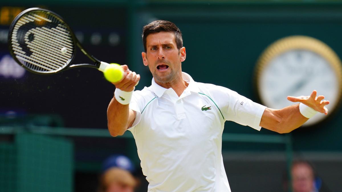 Novak Djokovic hat den nächsten Titel vor Augen