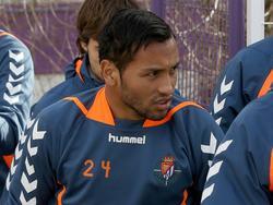 Jeffrén beim Training von Real Valladolid