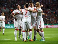 Bayern München steht nach Kantersieg in Leverkusen im DFB-Pokalfinale