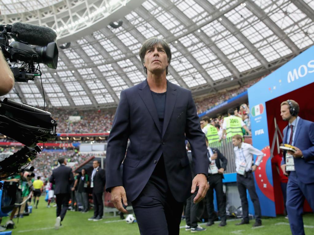 Joachim Löw steht im zweiten WM-Gruppenspiel unter Druck