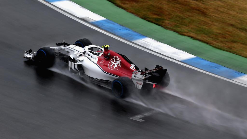 Charles Leclerc fuhr beim dritten Training die schnellste Zeit