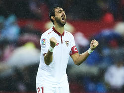 Pareja fue capitán del Sevilla FC antes de abandonar al club andaluz. (Foto: Getty)