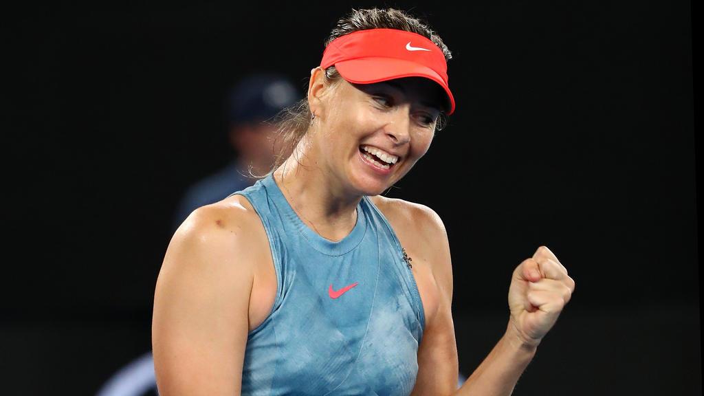 Maria Sharapova zieht ins Achtelfinale der Australian Open ein
