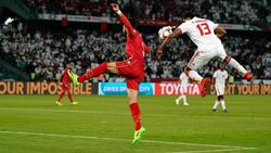 Die Vereinigten Arabischen Emirate und Bahrain trennten sich 1:1