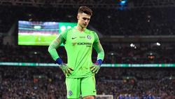Chelsea-Torwart Kepa wollte nicht ausgewechselt werden