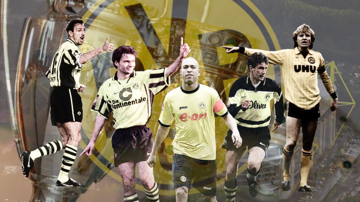 BVB: Das ist die legendärste Elf der Dortmunder Vereinsgeschichte