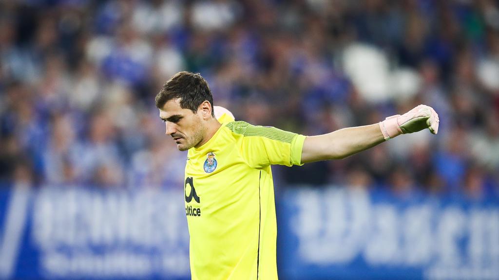 Iker Casillas ist nach seinem Herzinfarkt noch im Krankenhaus