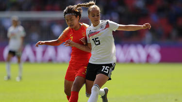 Giulia Gwinn schoss die DFB-Frauen zum Auftaktsieg