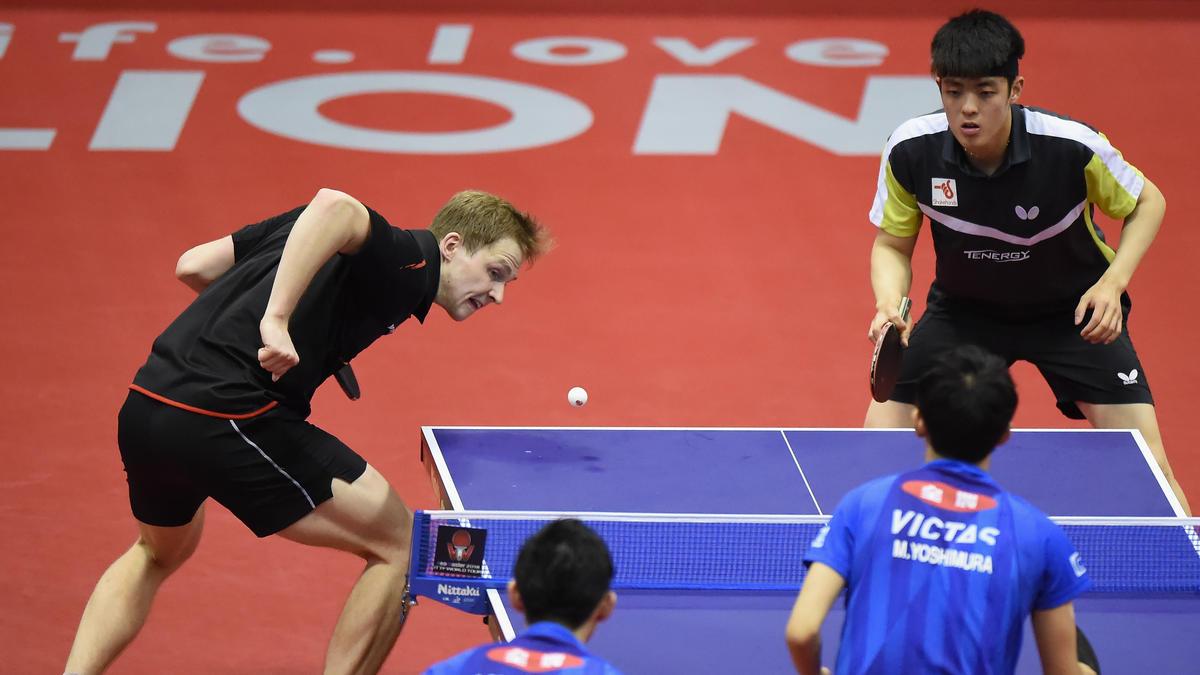 Benedikt Duda und Dang Qiu hatten im Finale keine Chance