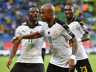 Ghana pasa a su sexta semifinal de Copa de África consecutiva. (Foto: Getty)