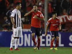 Gigliotti brilló con un doblete en la Copa Sudamericana. (Foto: Imago)
