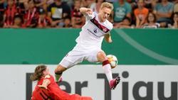 Der 1. FC Nürnberg hat die zweite Pokalrunde erreicht