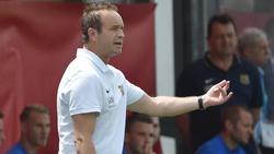 Trifft mit Saarbrücken auf seinen Ex-Klub:Trainer Dirk Lottner