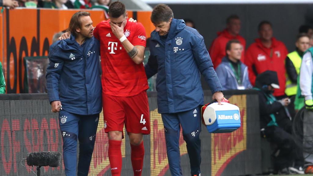 Niklas Süle verletzte sich am Samstag schwer