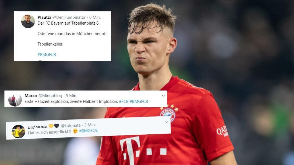 Netz-Reaktionen zur Bayern-Pleite bei Bundesliga-Spitzenreiter Gladbach