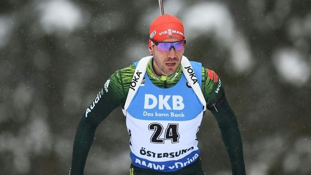 Arnd Peiffer startet mit Zuversicht in das Weltcup-Wochenende