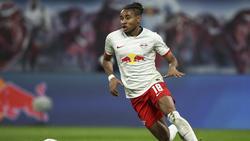 Christopher Nkunku dreht nach seinem Wechsel von PSG zu RB Leipzig auf