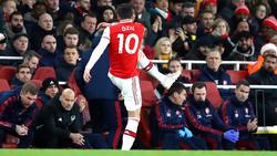 Bei Mesut Özil saß der Frust tief