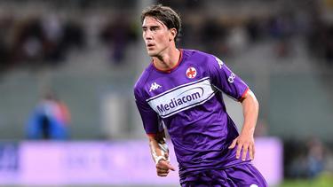 Dusan Vlahovic soll großes Interesse beim FC Bayern und BVB hervorrufen