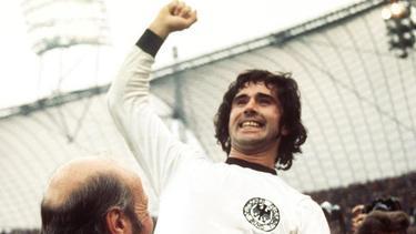 Gerd Müller, Weltmeister von 1974, verstarb im August 2021