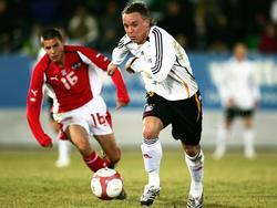Arne Feick spielt für die U20-Nationalmannschaft