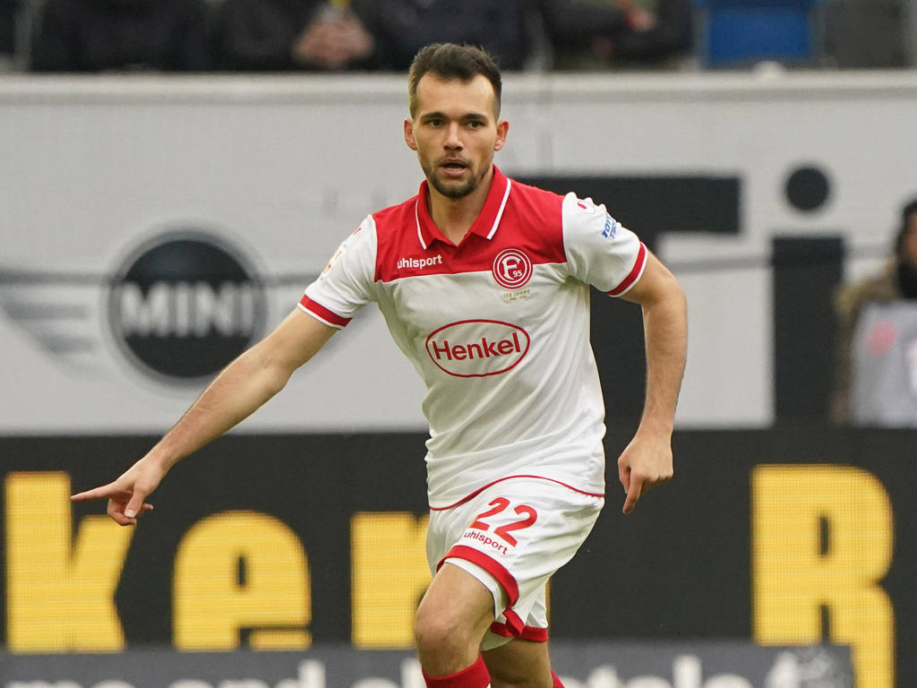 Kevin Stöger feierte nach langer Verletzungspause sein Startelf-Comeback bei Fortuna Düsseldorf