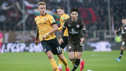 Dynamo Dresden und der FC St. Pauli trennen sich unentschieden