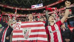 Die Bilbao-Fans hoffen auf den Finaleinzug