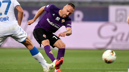Trotz des starken Ribéry-Auftritts gewann Florenz nicht