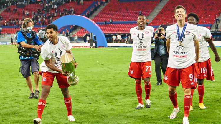 Der FC Bayern hat den Supercup gegen den FC Sevilla gewonnen