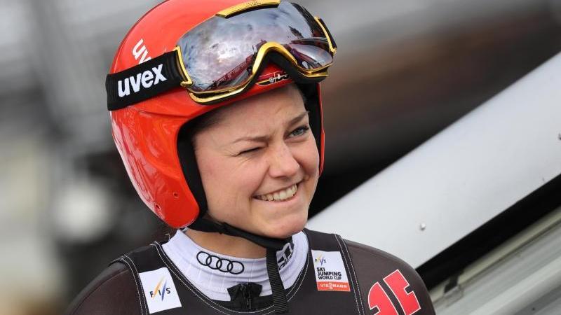 Gibt ihr Weltcup-Comeback: Skispringerin Carina Vogt