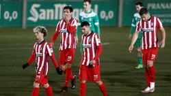 Atlético hat sich im Pokal gegen Drittligist Cornella blamiert