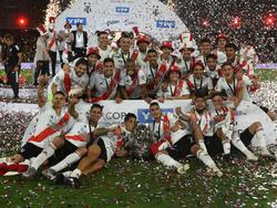 River Plate celebra su merecido título.