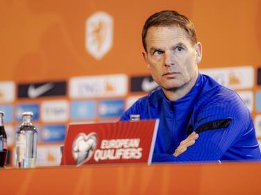 Niederlande-Teamchef Frank de Boer warnt sein Team vor den ÖFB-Kickern